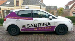 Rijschool-Sabrina